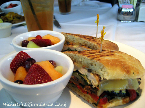 Bistro West- Grilled Chicken Panini