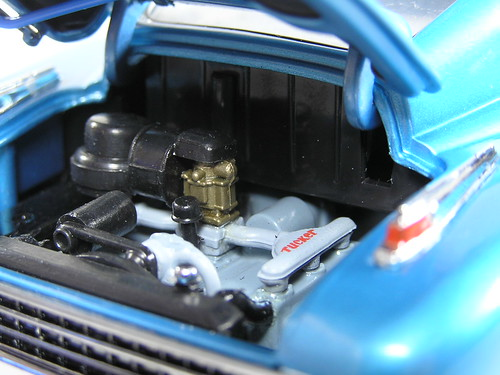 1948 Tucker Torpedo fuel engine