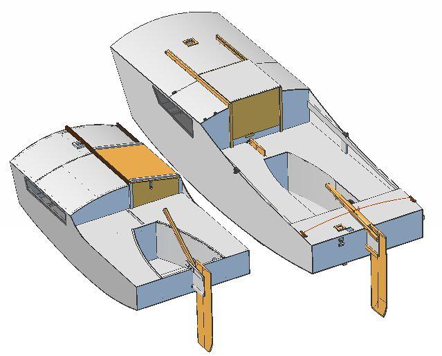 Sailing Micro Cruiser by Perttu Korhonen.  Ooze Gooze a PDGoose variant