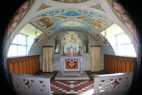 Interior of Italian Chapel, Lambholm,