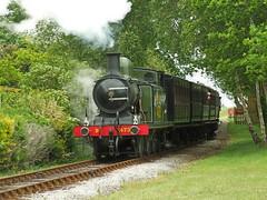 E4 no.B473 (alts1985) Tags: train spring railway steam gala isle wight e4 ashey 280511 nob473