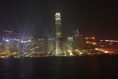 symphony of Lights (nsagarchand) Tags: skyline night hongkong lights symphonyoflights