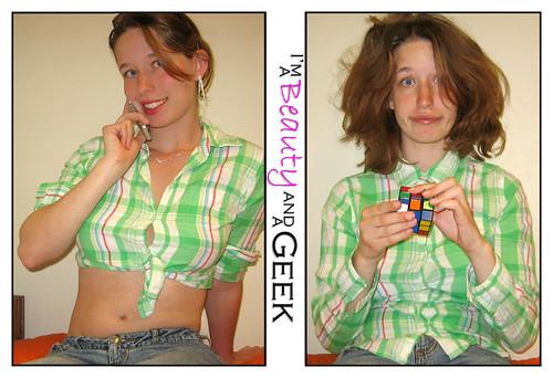 beauty or geek