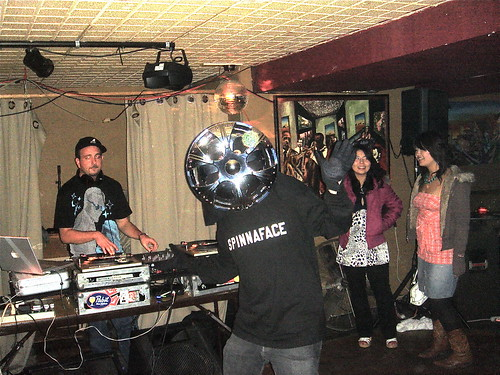 SpinnaFace at the Goodfoot Lounge with Manny/DJ Magneto, Portland, Oregon, 97214