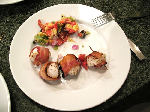 Scallops & tortellini Salad 001