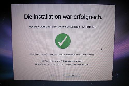 Mac OS X 10.5 Installation