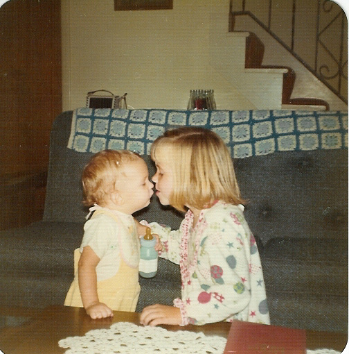 Wendy and me 1974