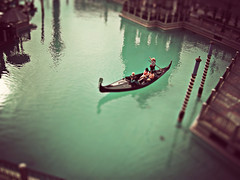 ts fm #3 (andrew sea james) Tags: water photoshop boat miniature nikon lasvegas fake gondola venetian thestrip tiltshift aplusphoto