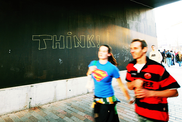 Think Superwoman!