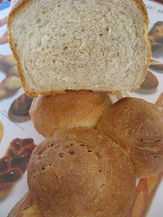 tender potato bread (loaf and rolls)