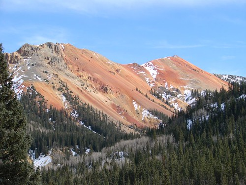 Red Mountain on San Juan Skyway