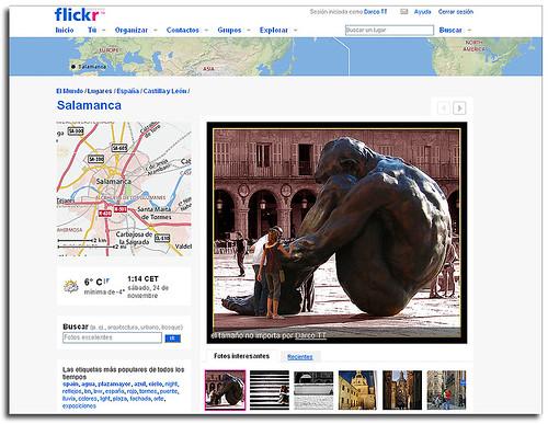 Salamanca, en Lugares de Flickr