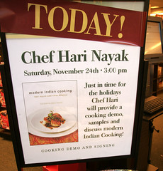 Hari Nayak at Barnes and Nobles