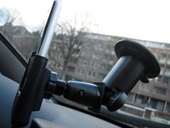 De zijkant van de Active Carholder.