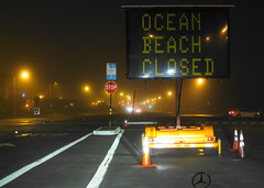 Ocean beach is closed ! (Σταύρος) Tags: sf auto sanfrancisco california ca city party mist praia beach wet car sign fog mercedes benz mar closed thecity playa stopsign mercedesbenz oceanbeach soirée posh expensive plage spiaggia germanengineering kalifornien sfist sclass サンフランシスコ saofrancisco cautionsign motorvehicle mbz παραλία s550 カリフォルニア californië 4drsedan калифорния σανφρανσίσκο oceanbeachclosed oceanbeachisclosed