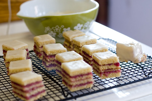 Petits Fours ready for Icing