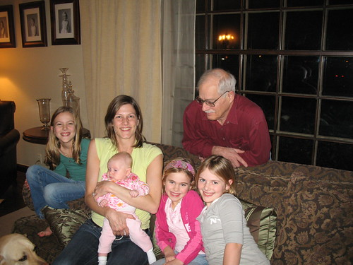 grandpa and his grandchildren