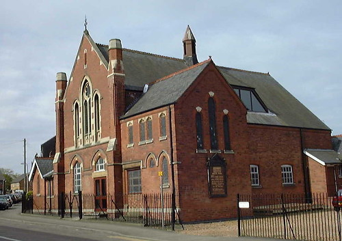 The church building as it stands today.