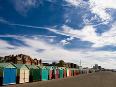 Brighton Beachhuts (david.nikonvscanon) Tags: world camera blue original sea england sky beach digital photoshop photography sussex photo search saturated brighton pattern photographer image postcard creative commons icon images front huts hut photograph luck lucky pixel promenade creativecommons saturation surprise dp seafront beachhuts digitalphoto find chromatic digitalimage theworld digitalphotograph oneworld aberation nikonvscanon viewtheworld davidnikonvscanon