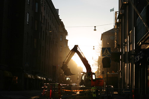 sunrise on annankatu
