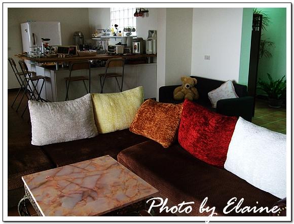 室內沙發區