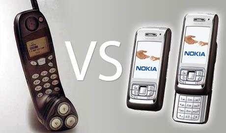 Nokia e65 Afeitadora