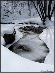 Stillness in Cold (Mulewings~) Tags: winter snow creek cool waters topquality vernoncounty anawesomeshot diamondclassphotographer flickrdiamond overtheexcellence