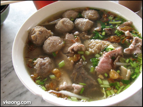 lebuh chulia beef soup koay teow