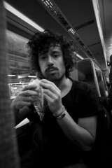 "Joel ""Balboa"" Blacoberg.. (Andreas Fabbe) Tags: train early eating joel tired balboa lindex blancoberg"