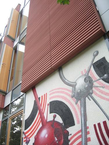 Kunst am Bau/ fassade gestaltet