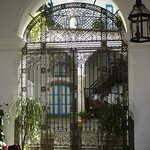 La Habana: Reja zaguán  de la Casa del Conde de Casa Lombillo