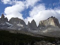 Torres del Paine - trek - sommet