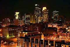 Minneapolis Skyline (karenmeyere) Tags: city nightphotography minnesota lights bravo theatre cityscapes stpaul minneapolis citylights guthrie thephotographer networld minneapolisskyline mywinners abigfave platinumphoto diamondclassphotographer fickrdiamond citrit picturefantastic theperfectphotographer dragongoldaward unforgettablelandscapes karenmeyere karenhunnicutt karenmeyer screamof karenhunnicuttphotogrpahycom