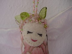 Fairy Dotee Face (ivoryblushroses) Tags: beads fairy swapbot dotee fairydotee