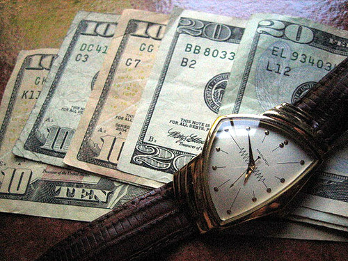 For Some, Time is Money
