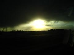 Pre-Storm (MetCom45) Tags: shadow sun storm green ice grass hail wind tornadoe