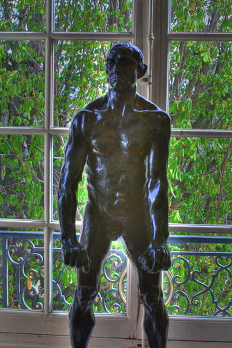 Rodin Sculpture - HDR