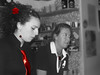 The red tie 2 (Pitt Rotelli) Tags: red portrait people woman girl rose lady bar work grey uniform monica service irene banchisa