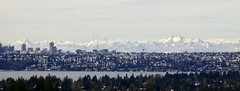 The Western Ridge (~~J) Tags: city seattle lakewashington bellevue olympicmountains stateofwashington mountains sky winter