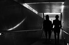 San Francisco (Jay Pasion) Tags: jaypasion nikon d7000 sanfrancisco downtown powellstreet bayarea california street photography silhouette muni blackandwhite bw