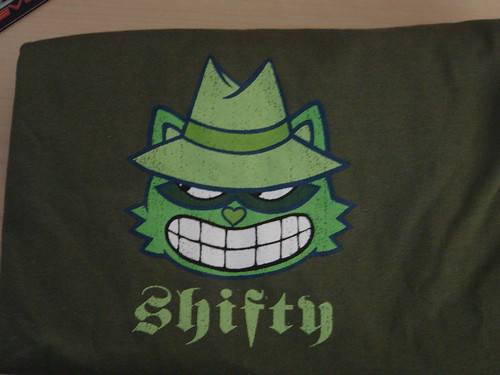"Happy Tree Friends T-Shirt -- ""Shifty"" size XL"
