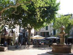 Hauptplatz von Waldemossa