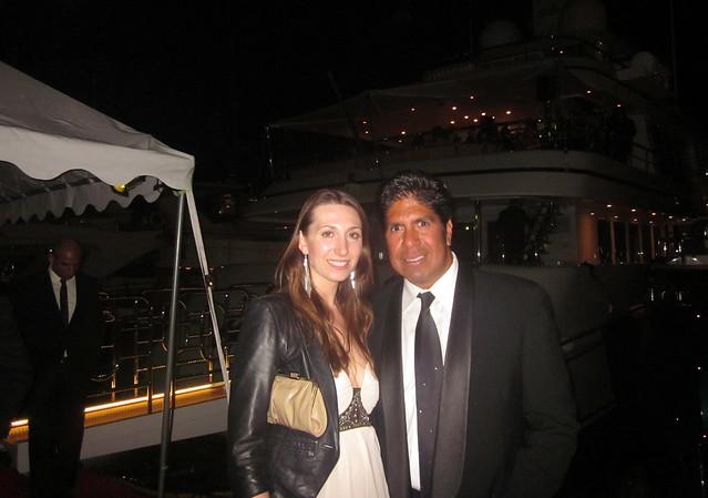 Nina Hatchwell, Gordon Vasquez, The Yacht Parties, 64th Annual Cannes Film Festival