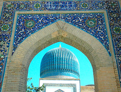 GRANDIOSITY OF THE PAST (kalim123) Tags: travel architect samarkand diamondclassphotographer