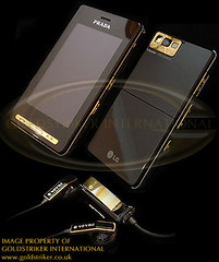gold plated iphone 3