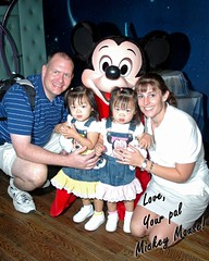 Hooray!!! We all got a pic with Mickey