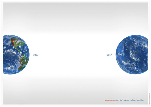 Global Warming Image from by Buou - Flickr