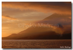 Pico (PedroMadruga) Tags: sunset pico azores lajes aores naturesfinest mywinners anawesomeshot pedromadruga southofpico lajesdopico suldopico