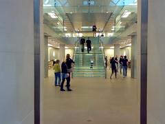 An Empty Apple Store