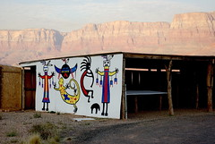 Lee's Ferry - Navajo Bridge - Din Craft Stall (Al_HikesAZ) Tags: arizona icons post crafts arts nativeamerican trading navajo backroad kokopelli leesferry 89 coloradoplateau vermilioncliffs din mormontrail alhikesaz